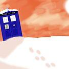 Gallifrey snow scene (Without Text) by TesniJade