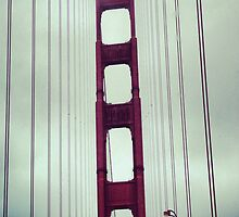 Golden Gate Bridge by mitchlx