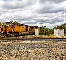 Union Pacific Engine 7034 by Craig  Bellinger Photography