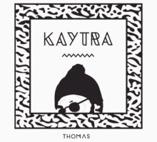 Kaytranada with white 'kayta' by Brad my name is Brad