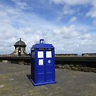 Edinburgh Castle, Scotland - TARDIS by robotplunger