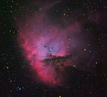 NGC 281 - Pacman Nebula by Jeff Johnson