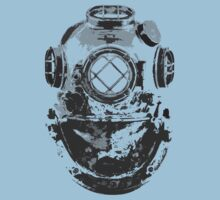 Old Diver T-shirt by Nasherr