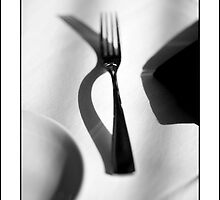 Place Setting For One by Don  Powers