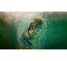 Underwater Wave Photographic Print