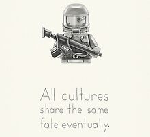 The Future - All Cultures Share the Same Fate Eventually by newmindflow