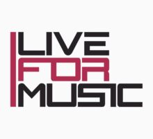 Live For Music Logo by Style-O-Mat