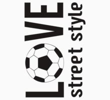 Redbubble Love Soccer Street Style Tee by raineOn