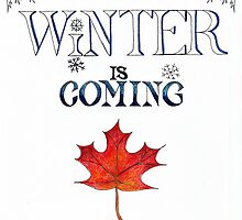 Winter is Coming by Michelle Nabours