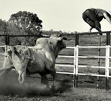 COWBOY UP by Barbara  Jean