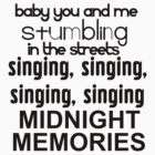 Midnight Memories  by 1DxShirtsXLove