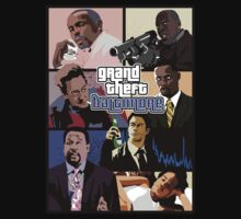 The Wire + Grand Theft Auto | Grand Theft Baltimore by rydrew