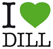 I ♥ DILL by eyesblau