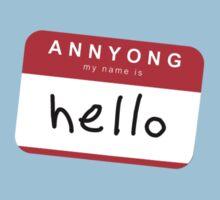 Hello! Annyong! Kids Clothes