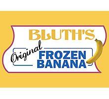 Bluth's Frozen Banana Photographic Print
