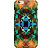 Abstract Inkblot Pattern iPhone Case/Skin