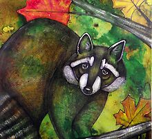Masked Autumn by Lynnette Shelley