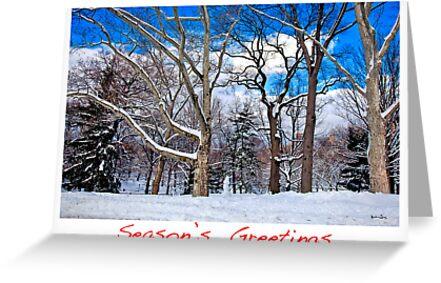 Season's Greetings by Madeline Bush Ellis