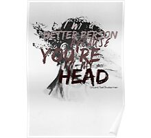 You're in my head Poster
