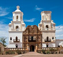 San Xavier Mission by kingfisher02