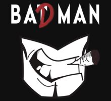 Bat(D) Man (White) by WRBclothing