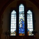 Beautiful And Seasonal Church Window by lynn carter