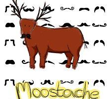 Moostache by EdenIsRising