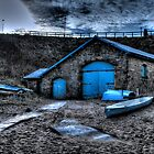 Boat Shed by Andrew Pounder