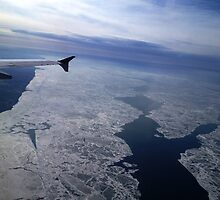 Flight Over Frozen Waters by ValSteve59