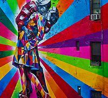 The Kissing Sailor by Ryan Mingin