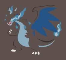 Mega Charizard-X (Simple) by Tyzerra369
