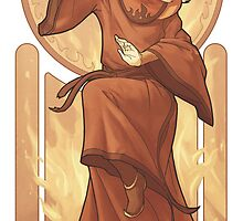 Roku - Art Nouveau Avatars by swadeart