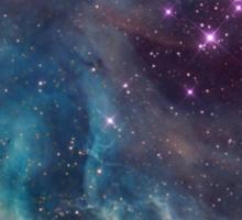 Heart-shaped Nebula Sticker