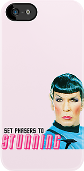 Set phasers to stunning, Mr. Spock by Aidan Wells