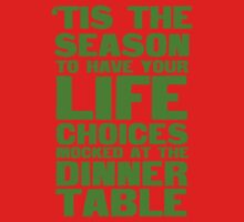 'tis the season to have your life choices mocked at the dinner table by SlubberBub