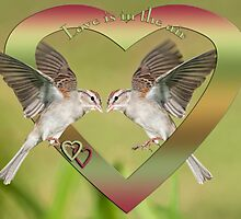 Love is in the Air by Bonnie T.  Barry