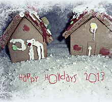 Gingerbread House by lyssuhhh