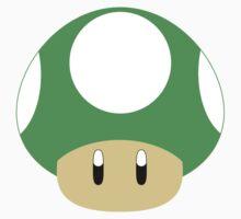 Mario-1UP Mushroom by Aljoscha Kirschner