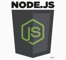 NodeJS (large) by John Le Drew