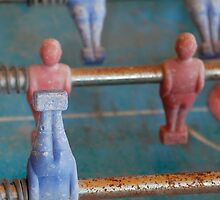 Old Table Football Figures by jojobob