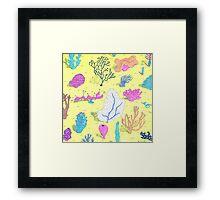 corals Framed Print