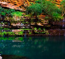 Circular Pool, Karijini National Park by Ken Watt Photography