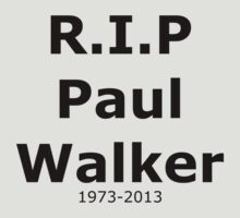 R.I.P Paul Walker by jsbdesigns