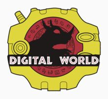 Digital World (Black) by AniMayhem