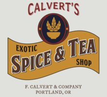 Calvert's Exotic Spice and Tea Shop by jabbtees
