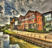 University of Lincoln Library HDR by Jonathan Cox
