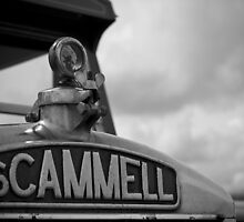 Scammell Truck by Graeme  Hunt