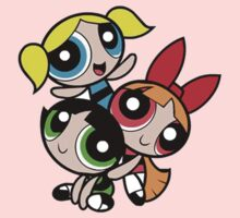 PowerPuff Girls 90's Cartoon Network by charlieeastwick