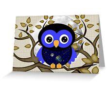 Owls September Greeting Card
