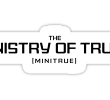 Ministry of Truth Sticker